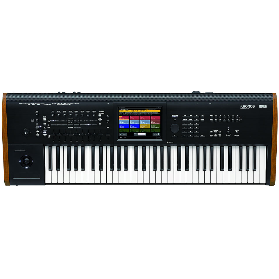 Synthesizer - Korg Kronos 61 Modell 2015 Synthesizer - Onlineshop Musik Produktiv