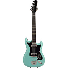 Hagstrom Retroscape H-II Aged Sky Blue « Electric Guitar