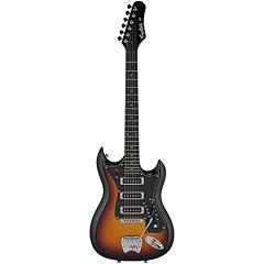 Hagstrom Retroscape H-III 3-Tone-Sunburst  «  E-Gitarre