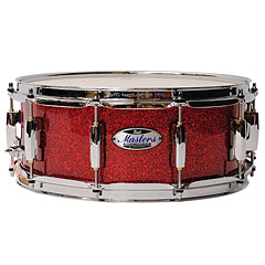 "Pearl Masters Maple Complete 14"" x 5,5"" Snare Inferno Red Sparkle « Snare Drum"