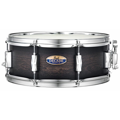 Pearl Decade Maple 14  x 5,5  Satin Black Burst