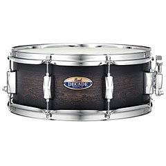 "Pearl Decade Maple 14"" x 5,5"" Satin Black Burst « Caisse claire"