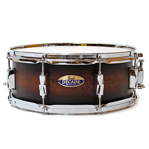 Pearl Decade Maple 14  x 5,5  Snare Satin Brown Burst