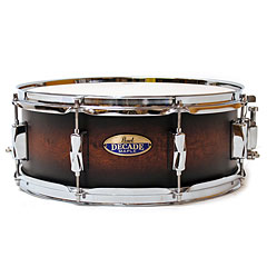 "Pearl Decade Maple 14"" x 5,5"" Snare Satin Brown Burst « Snare drum"