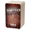 Cajon Sela CaSela Vintage Red, Percussion, Drums/Percussion