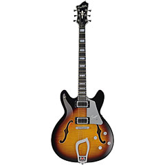 Hagstrom Super Viking Tobacco Sunburst « Electric Guitar