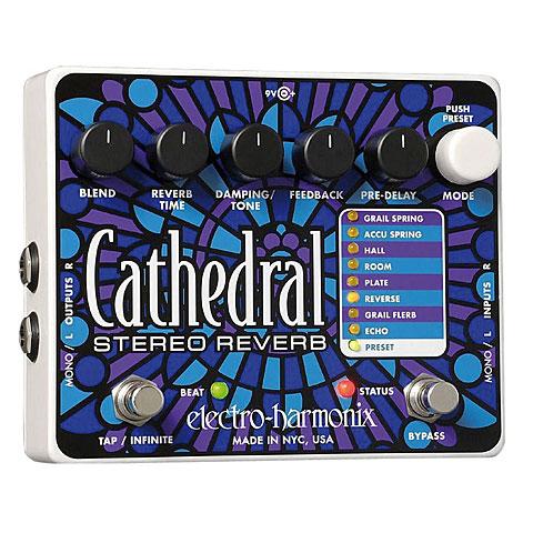 Pedal guitarra eléctrica Electro Harmonix Cathedral