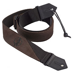 Taylor Poly/Suede Strap Brown « Guitar Strap