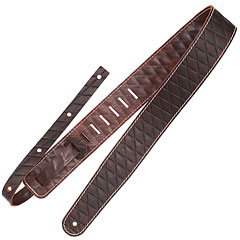 Richter Raw II Contour Sew Brown « Guitar Strap
