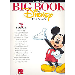 Hal Leonard Big Book Of Disney Songs - Alto Saxophone « Bladmuziek