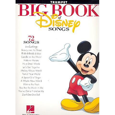 Hal Leonard Big Book Of Disney Songs - Trumpet