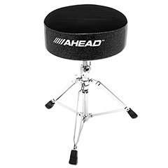 "AHead ART-BS 14"" Round Sparkle Throne « Sillín de batería"