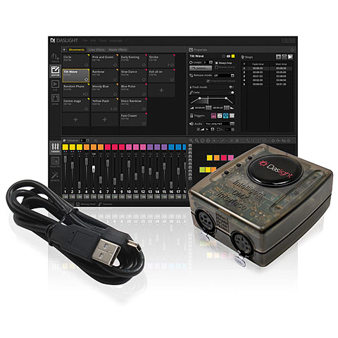 Software de control Daslight DVC4 Gold ZM