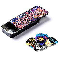 Dunlop Santana Pick Tin, Medium, 6 picks « Plettro