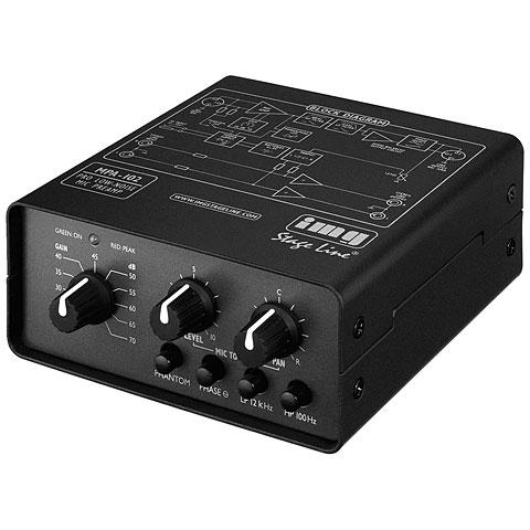 Préampli microphone IMG Stageline MPA-102