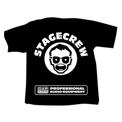 Showtec DAP T-Shirt Stagecrew « Camiseta manga corta