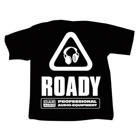 Showtec DAP T-Shirt Roady