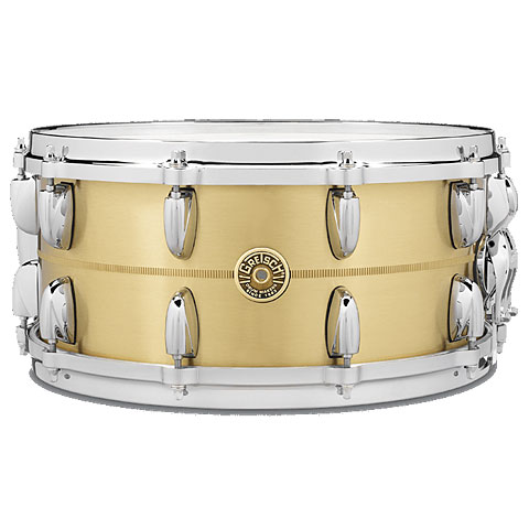 "Snare Drum Gretsch Drums USA 14"" x 6,5"" Bell Brass Snare"