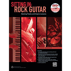 Alfred KDM Sitting In: Rock Guitar (+ DVD) « Leerboek