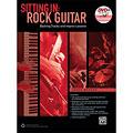 Учебное пособие  Alfred KDM Sitting In: Rock Guitar (+ DVD)