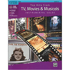 Alfred KDM Top hits from TV, Movies and Musicals for flute « Play-Along