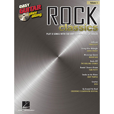 Hal Leonard Easy Guitar play-along: Rock Classics Vol.1