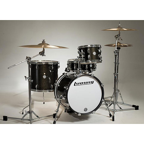 Ludwig Breakbeats LC179X016 Black Gold kit