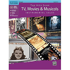 Alfred KDM Top hits from TV, Movies and Musicals for trumpet « Play-Along