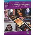 Συλλογές μουσικής Alfred KDM Top hits from TV, Movies and Musicals for alto sax