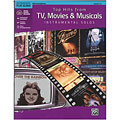Alfred KDM Top hits from TV, Movies and Musicals for alto sax  «  Play-Along