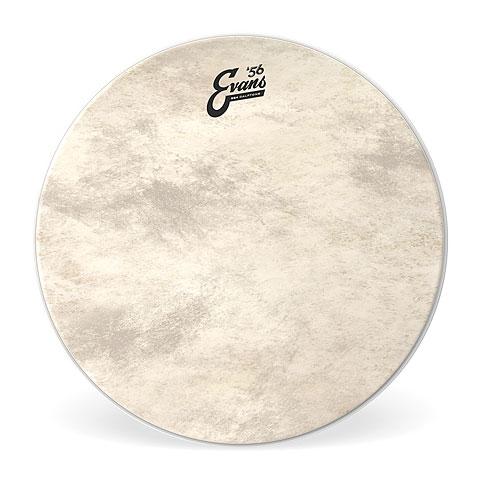"""Bass Drumhead Evans EQ-4 Calftone 20"""" Bass Drum Head"""