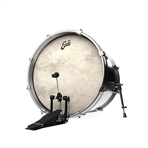 how to set up a bass drum