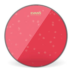"Evans Hydraulic Red 18"" Tom Head « Parches para Toms"