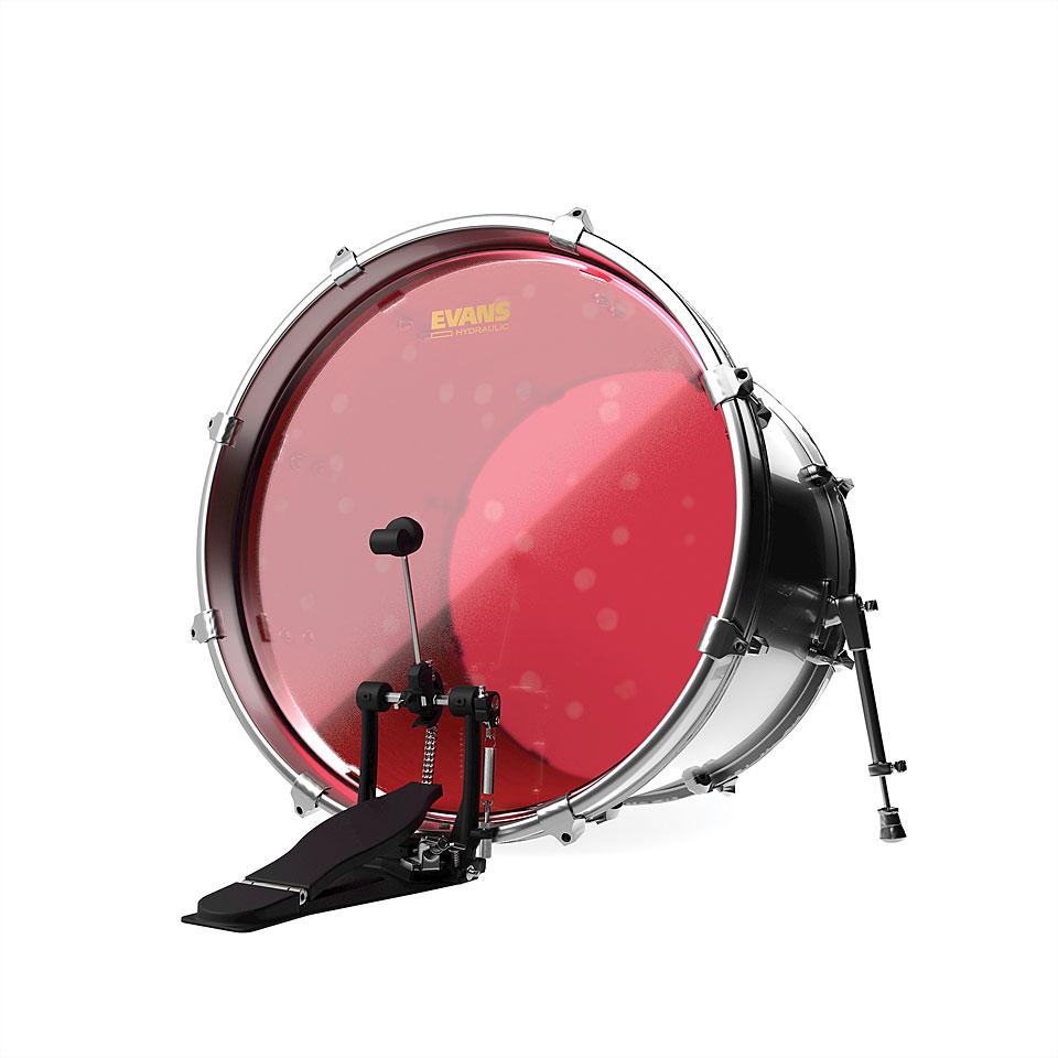 evans hydraulic red 22 bass drum head bass drum head. Black Bedroom Furniture Sets. Home Design Ideas