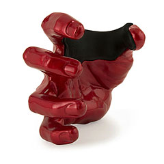 GuitarGrip Red Metallic Right « Wandhalter Gitarre/Bass