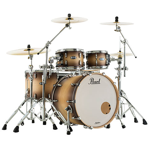 Pearl Masters Maple Complete 22  Satin Natural Burst