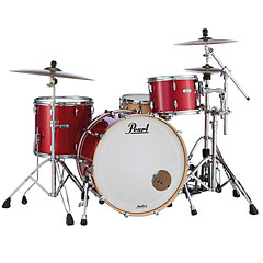 "Pearl Masters Maple Complete 24"" Inferno Red Sparkle « Εργαλεοθήκη ντραμ"