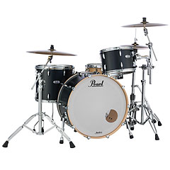 "Pearl Masters Maple Complete 24"" Matte Caviar Black « Drum Kit"