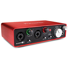 Focusrite Scarlett 2i2 2nd Gen « Audio Interface