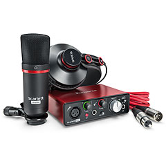 Focusrite Scarlett Solo Studio Pack 2nd Gen « Audio Interface