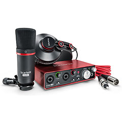 Focusrite Scarlett 2i2 Studio 2nd Gen « Interface de audio