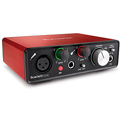 Focusrite Scarlett Solo 2nd Gen « Carte son, Interface audio