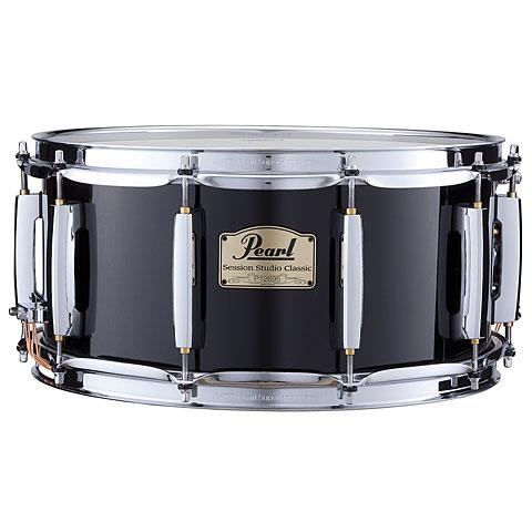 """Snare Drum Pearl Session Studio Classic 14"""" x 6,5"""" Piano Black"""