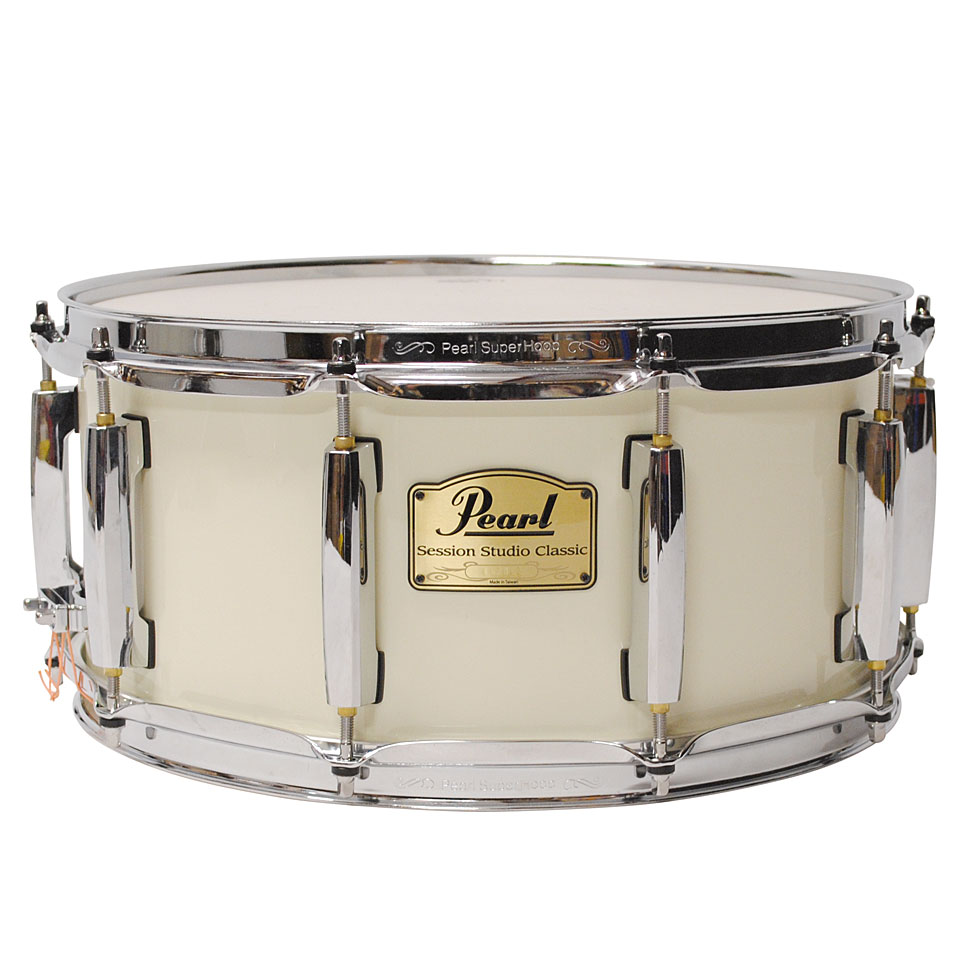 Pearl session studio classic 14 x 6 5 antique ivory for Classic house drums