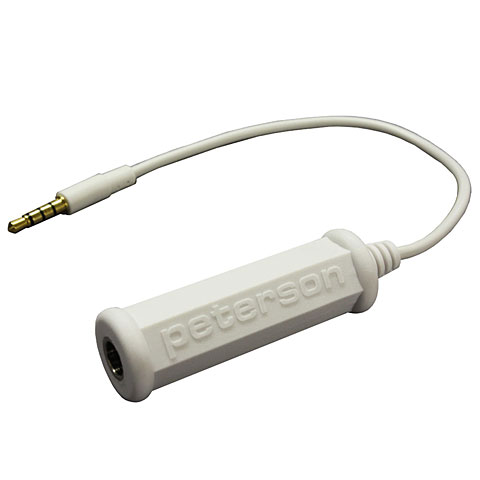 Afinador Peterson Adaptor Cable for Mobile Devices