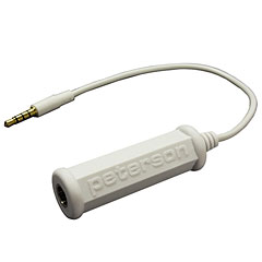Peterson Adaptor Cable for Mobile Devices « Accordeur