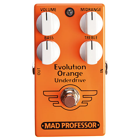 Pedal guitarra eléctrica Mad Professor Evolution Orange Underdrive