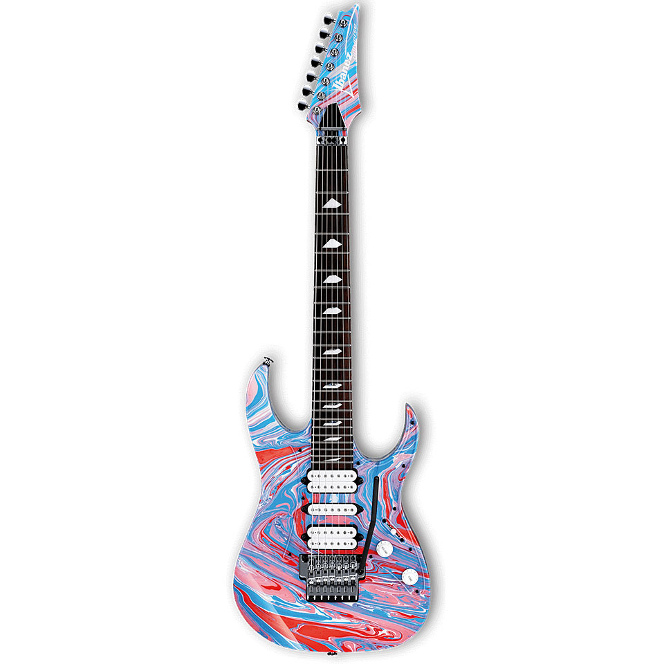 ibanez uv77psn steve vai 25th anniversary electric guitar. Black Bedroom Furniture Sets. Home Design Ideas