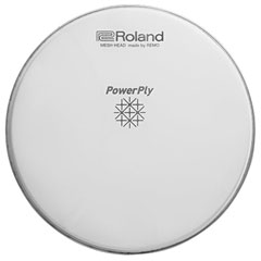 "Roland MH2 Series PowerPly 18"" Mesh Head Kick « Parches Trigger"