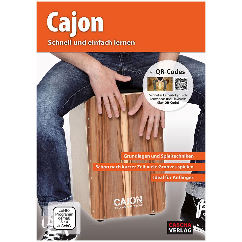 cascha cajon schnell und einfach lernen libro di testo. Black Bedroom Furniture Sets. Home Design Ideas